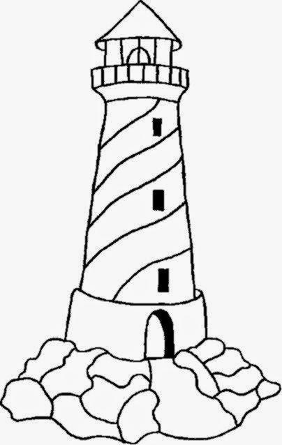 free light house coloring pages - photo#15