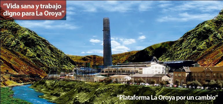 PLATAFORMA LA OROYA POR UN CAMBIO