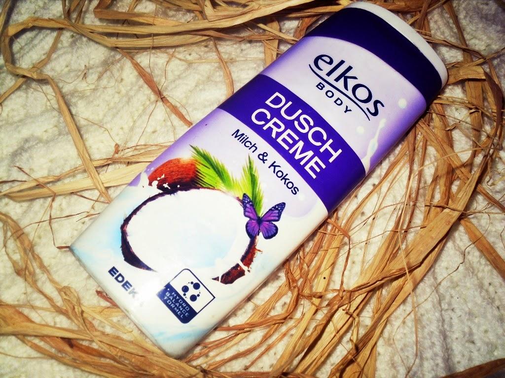 Elkos Body mleko & kokos krem, żel pod prysznic