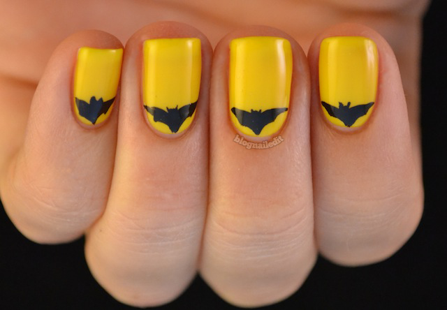 batman manicure batmanicure
