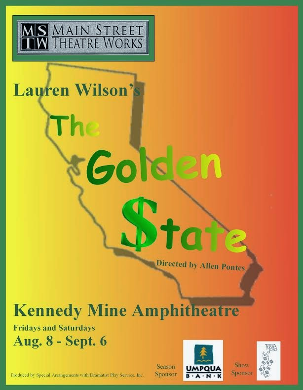 "MSTW Presents: ""The Golden State"" - Aug 8-Sept 6"