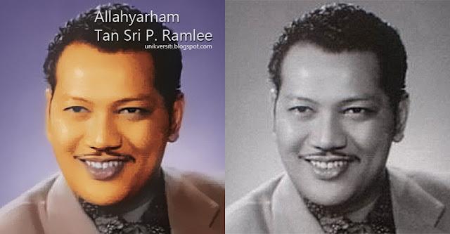 Tan Sri P Ramlee gambar warna