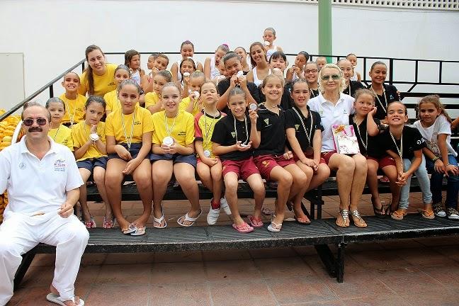 Canarias sincro la ad santa cruz de nataci n for Piscina julio navarro