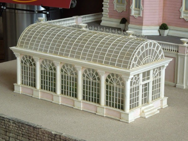 Grand Budapest Hotel movie model glasshouse
