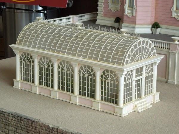 Grand Budapest Hotel movie model glasshouse