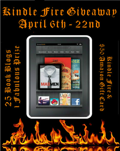 Truly Bookish Kindle Fire  50 Amazon Gift Card Giveaway