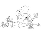 #2 Winnie The Pooh Coloring Page