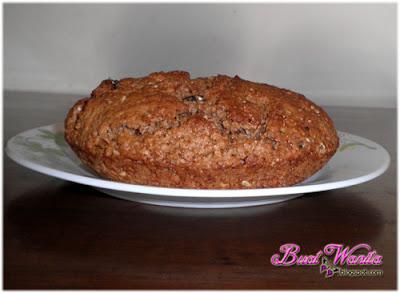 Resepi Mudah Roti Soda Coklat Sukatan Cawan. Cara-Cara Buat Roti Soda Ireland. Roti Soda Coklat Milo Irish Sedap Senang Simple.