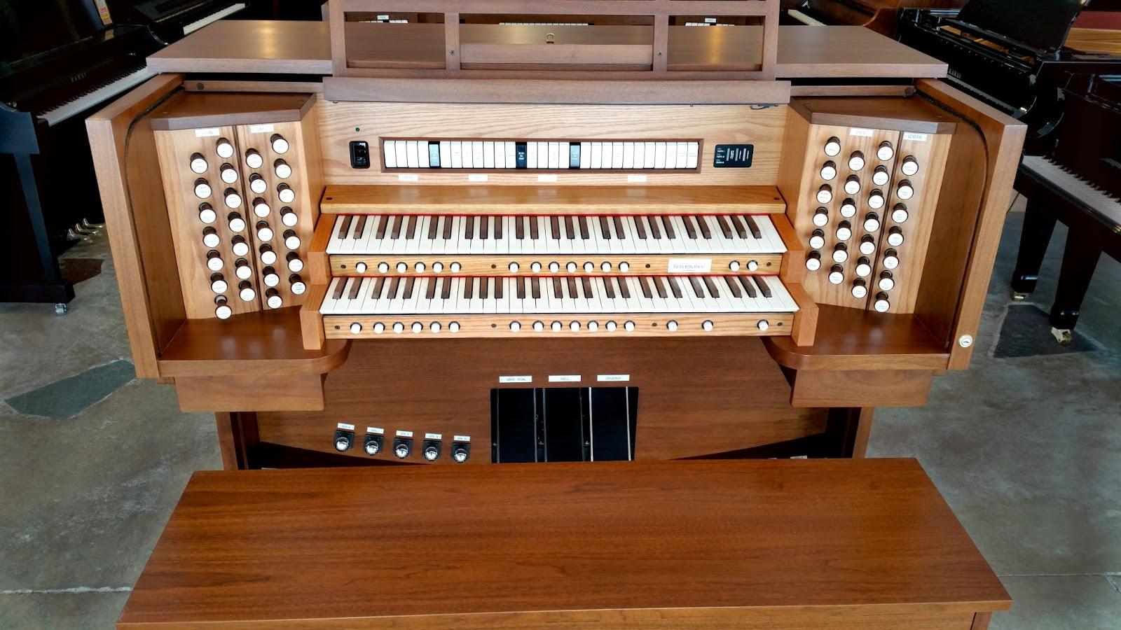 Used R-281, Allen organ