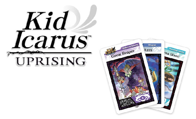 Kid Icarus Uprising AR cards free