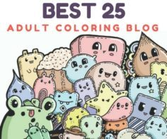 BEST 25 ADULT COLORING BLOG