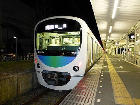 西武鉄道 各停 練馬行き 30000系(終電)