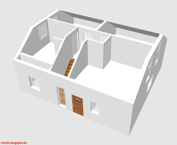 vio 302 von fingerhaus in wuppertal unser bautagebuch anleitung f r sweet home 3d teil 5. Black Bedroom Furniture Sets. Home Design Ideas