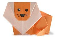 Lion Origami