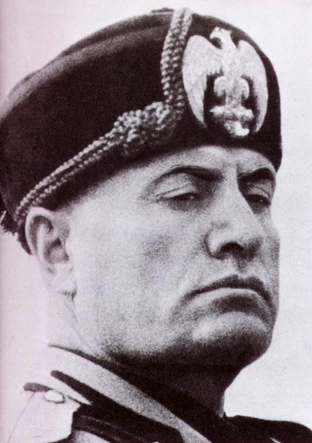 Mussolini, 5 ft 6