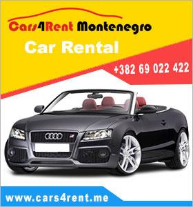 Rent a car Montenegro