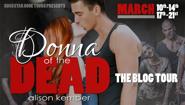 DONNA OF THE DEAD blog tour