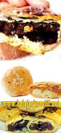 gambar resep kue pia isi cokelat enak