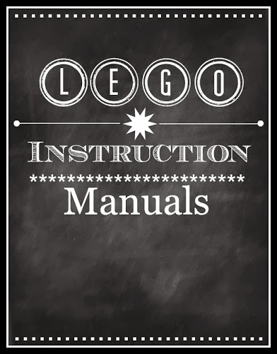 Lego Instruction Manual Binder {Printable}