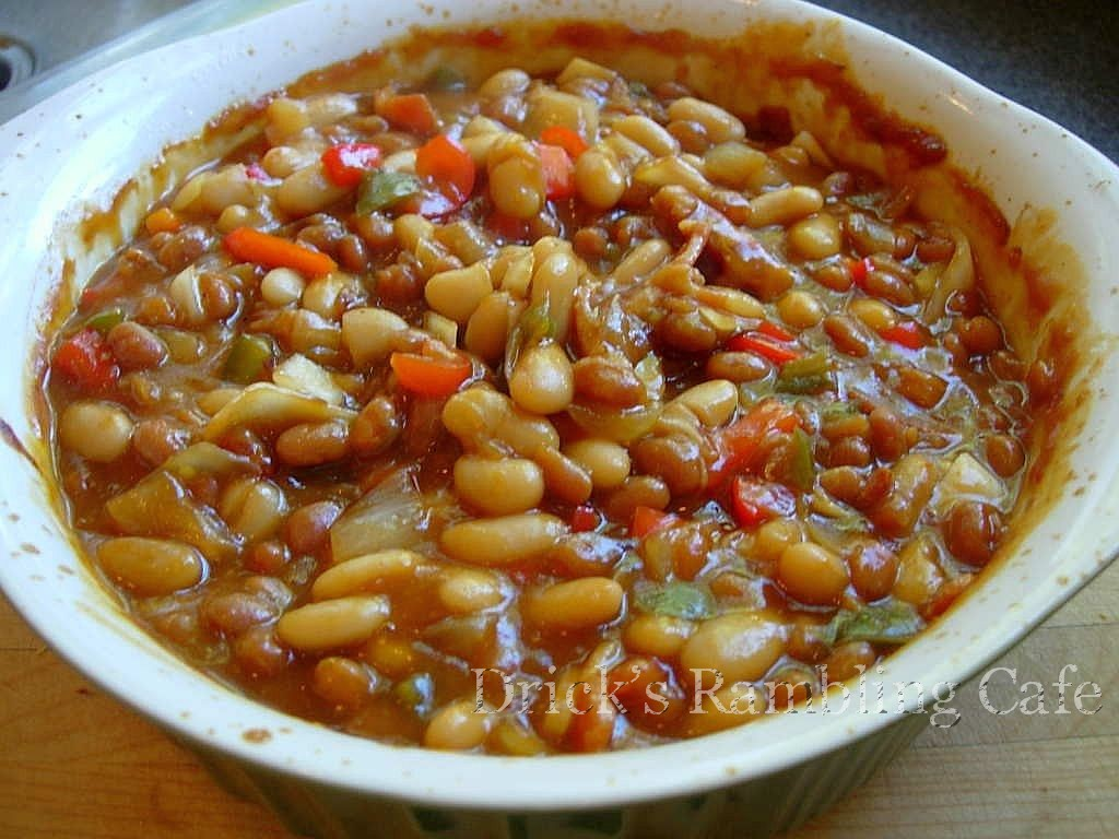 Baked Beans With Brown Sugar Recipe Drick S Rambling Cafe