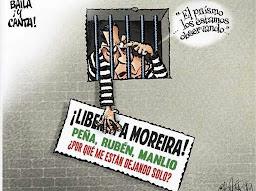 Cartón del Monero Panista Calderón