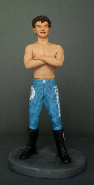 statuette personalizzate action figure idee regalo compleanno wrestling orme magiche