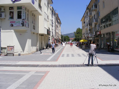New Pedestrian Areas in Fethiye
