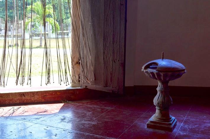 Inside Siquijor Church, Siquijor Island, Philippines