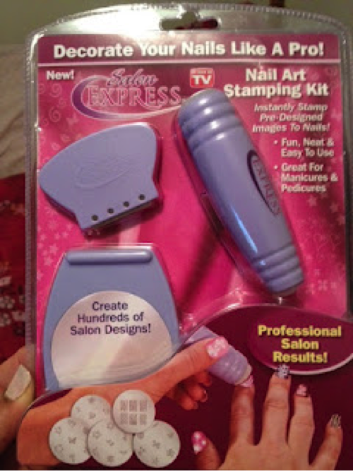 Salon Express Nail Art Stamping Kit Review