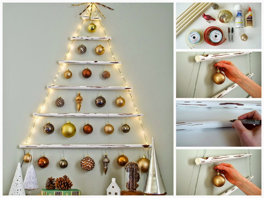 Diy Hanging Christmas Tree