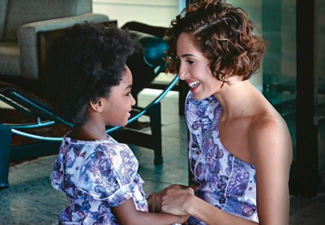 Camila Pitanga e filha Antonia