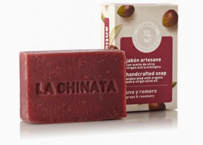 Jabón antioxidante de uva y romero
