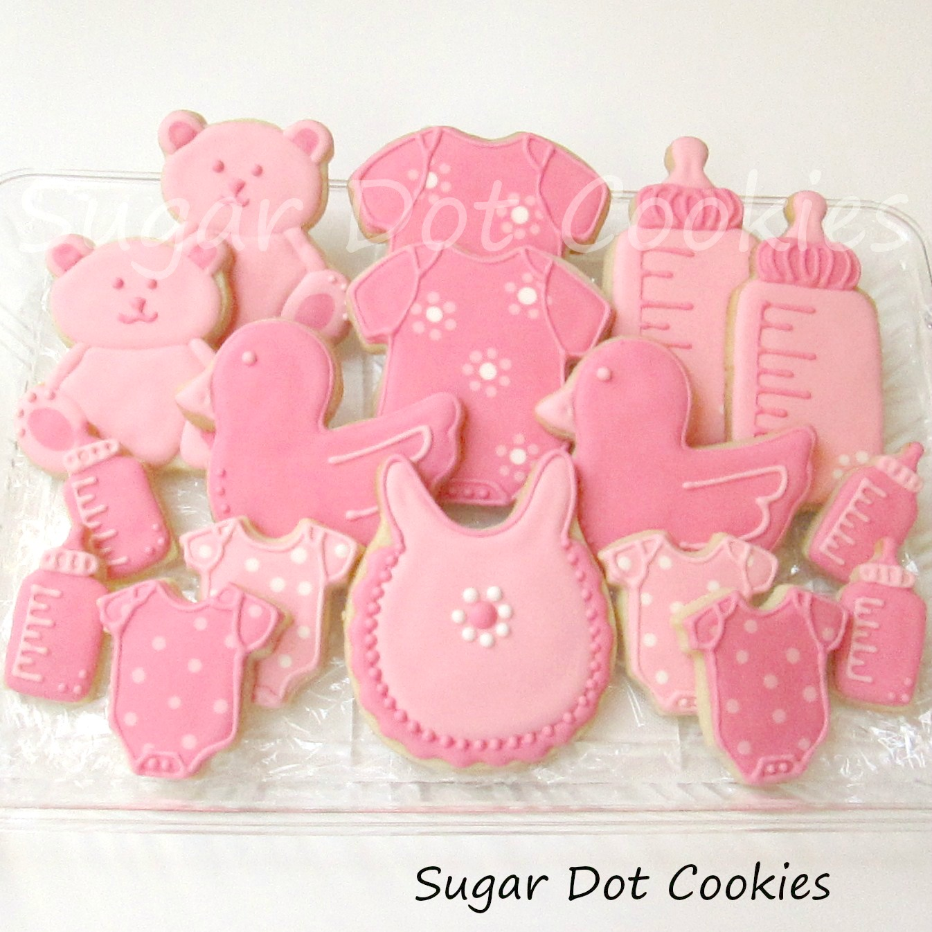 New Baby Sugar Cookies With Royal Icing