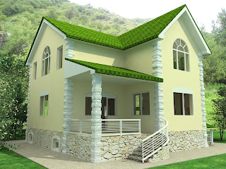 Beautiful modern home exterior designs modern home designs for Nepali house design