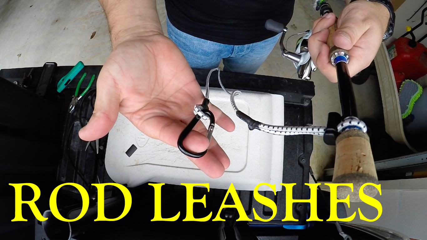Secure your investment part 2 rod leashes marsh life for Fishing rod leash