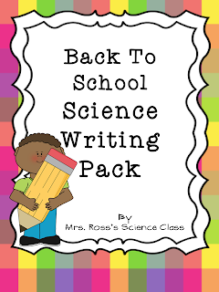 http://www.teacherspayteachers.com/Product/Back-To-School-Science-Writing-Pack-786546
