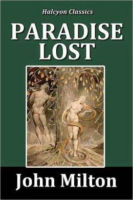 Paradise Lost de John Milton livre