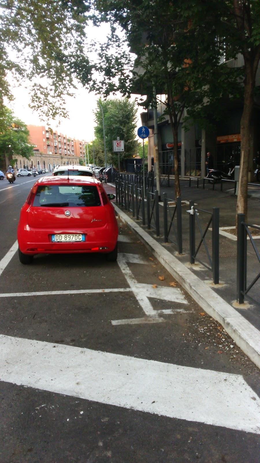 Ciclabili a roma piste ciclabili e ciclopedonali bike - Porta portese lavori ...