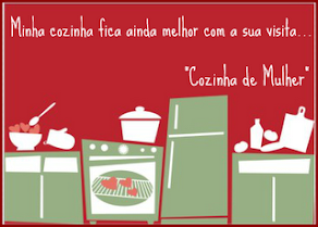 """Selinho do blog """"Cozinha de Mulher"""""""