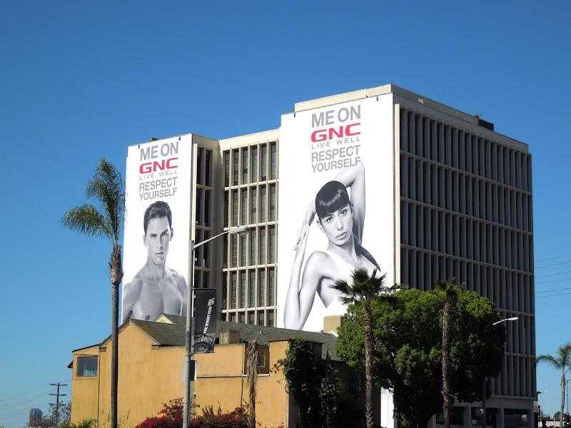 Me On GNC Live Well billboards