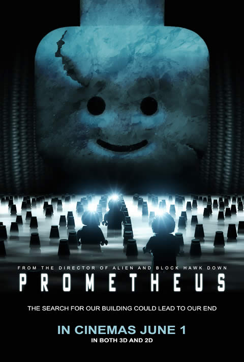 Prometheus Lego Poster
