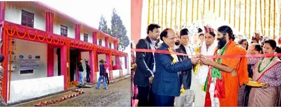Baba Ramdev Inaugurates Apparel Training and Development Centre in Sonada