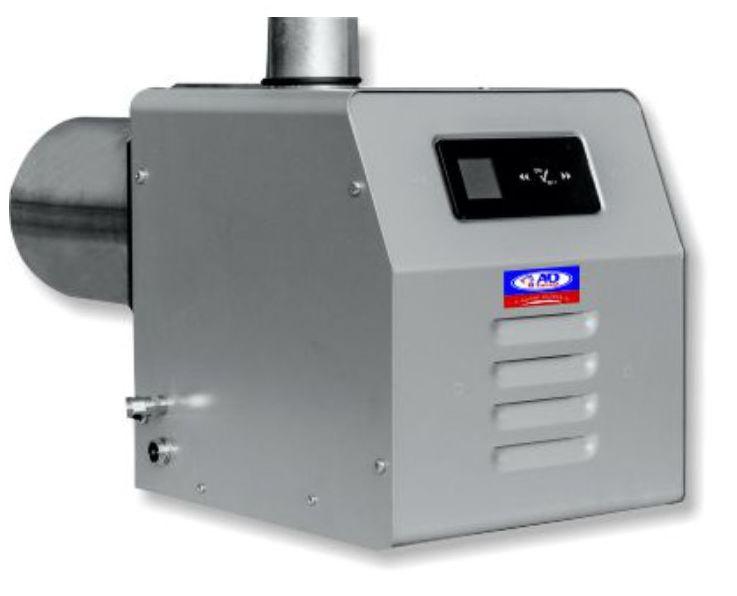 Σύγχρονος Ιταλικός καυστήρας βιομάζας (πυρηνοξυλου) Bmix Digital 70kw &45Kw με προηγμένη τεχνολογία