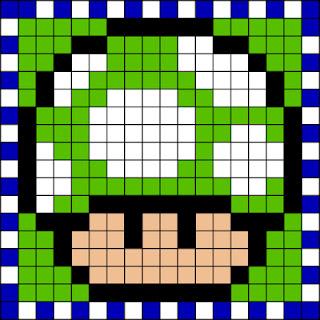 Seta verde Mario Bros