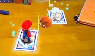 Mario vs Goomba AR Cards