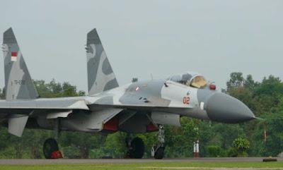 Sukhoi Su-30 MK INDONESIA
