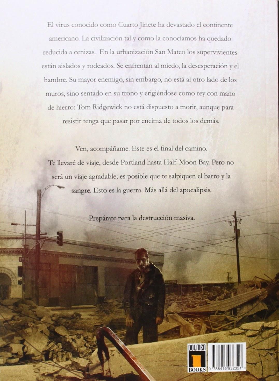 El errante: Libros leídos 2014 - 26 - El cuarto jinete - Destrucción ...
