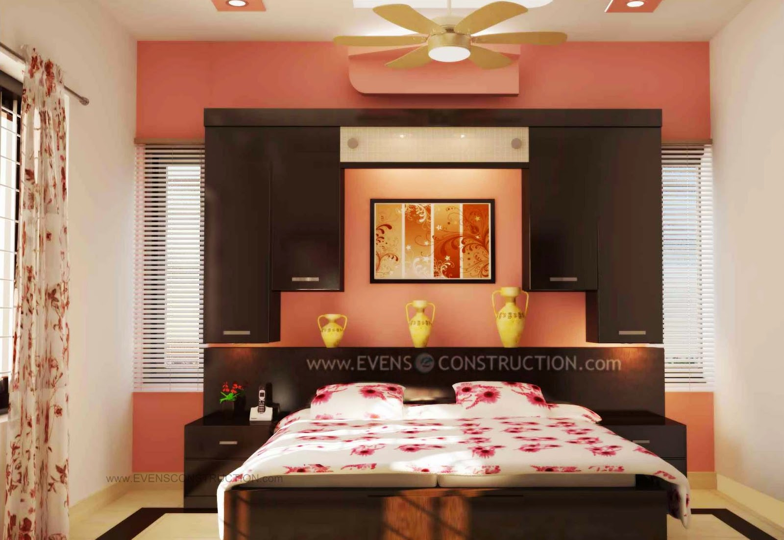 Evens Construction Pvt Ltd Modern Bedroom Design
