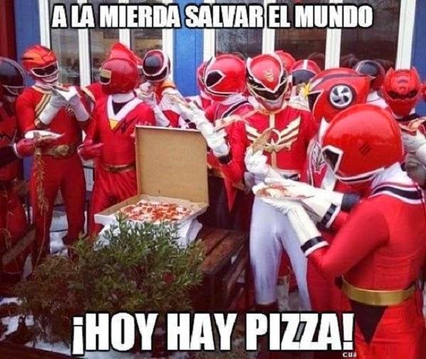 Hoy toca pizza