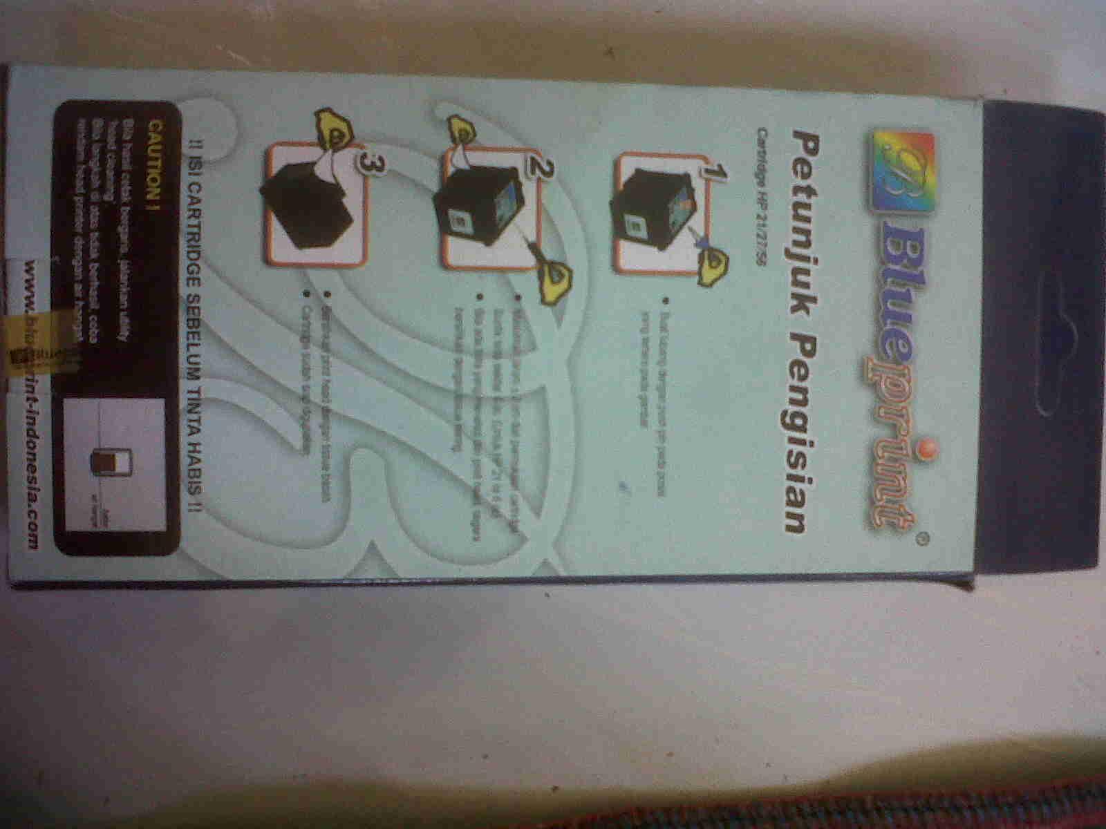 Cara Mengsisi Tinta Cartridge Printer